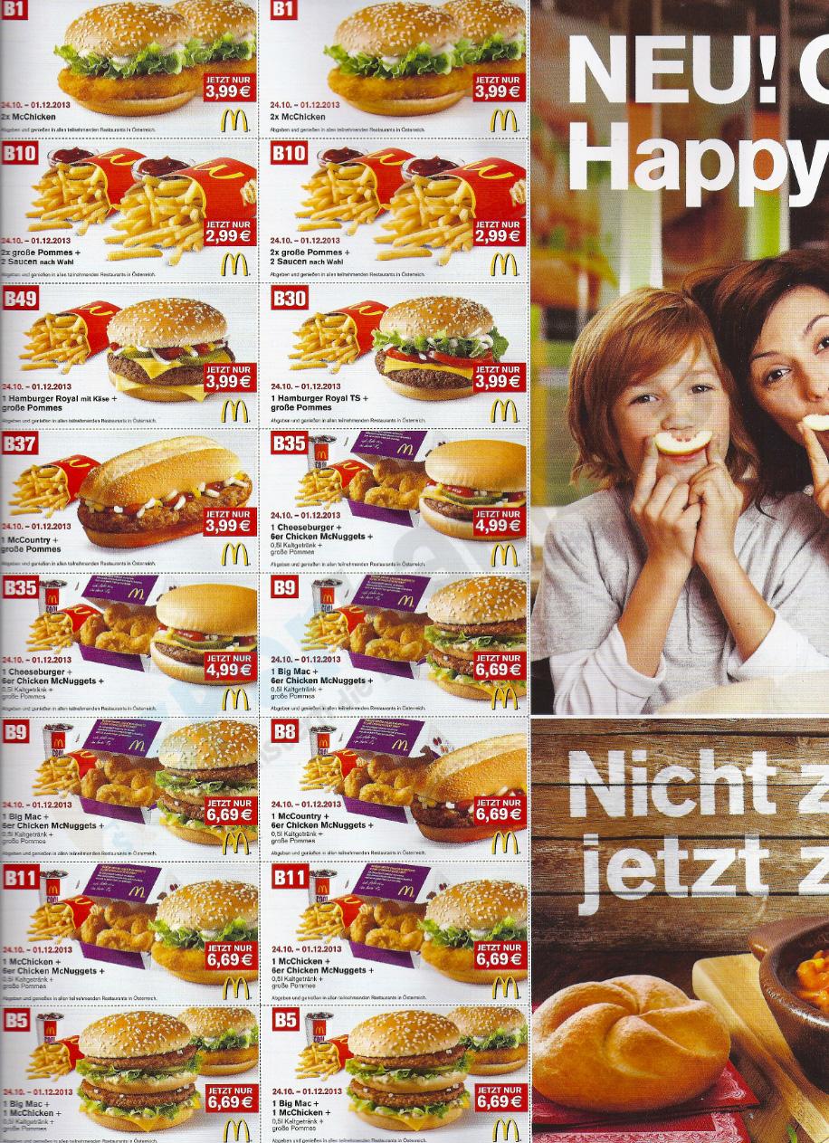 mcdonalds coupons oktober