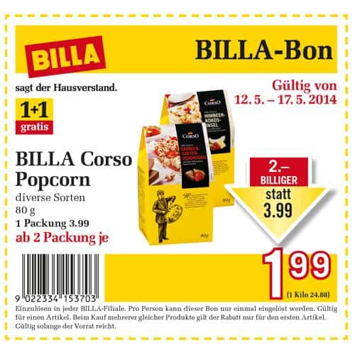 Billa Corso Popcorn Metro Mobiles Black Friday Deals
