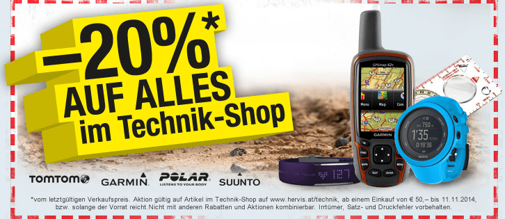 Hervis Technik Sale