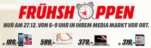 Media Markt Frühshoppen Angebote Am 27122014 Von 6 9 Uhr