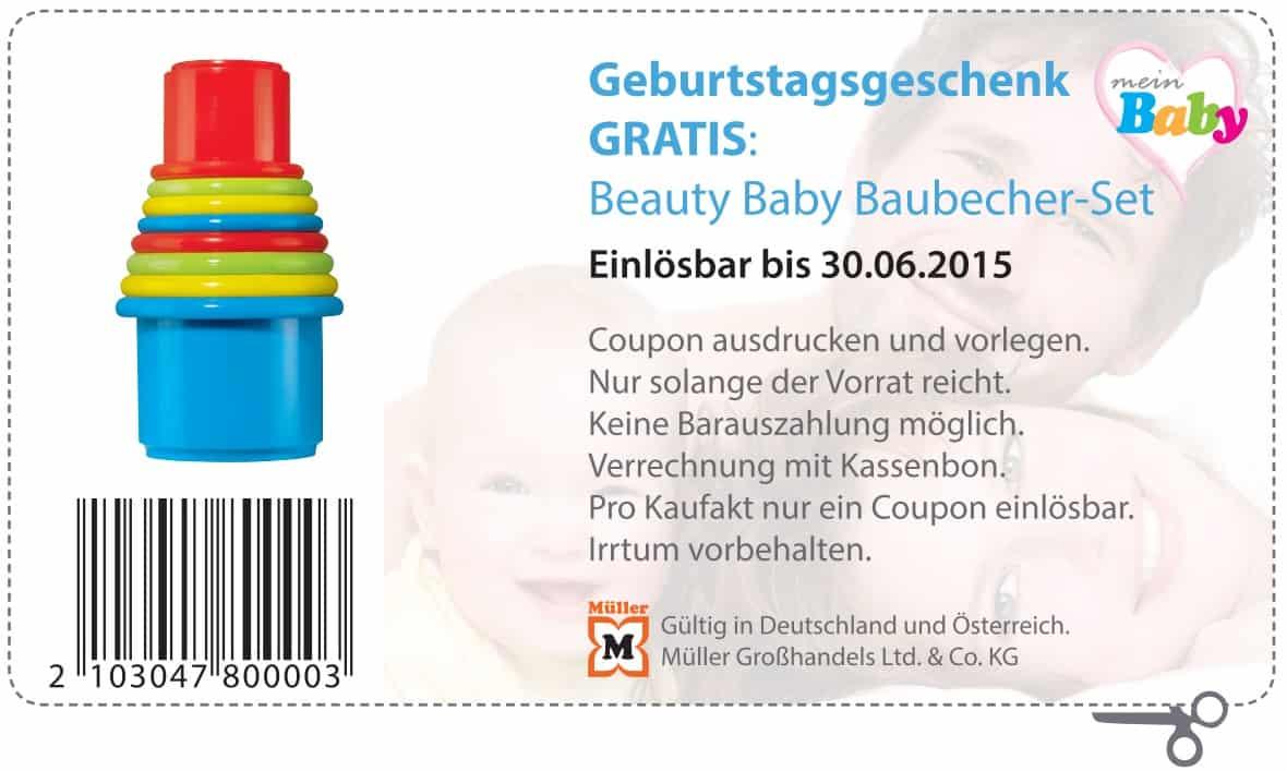 Baubecher-Set