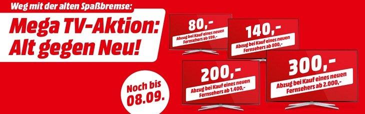Media Markt Alt Gegen Neu Bis Zu 300 Auf Den Neuen Tv Sparen