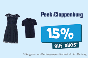 Peek & Cloppenburg Hamster Woche