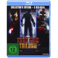 Iron Man Trilogie (Collector's Edition) Blu-ray um nur 11,99 Euro