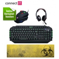 Redcoon – zB.: connectIT Gaming-Set um 79,90 € inkl. Versand