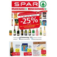 Neue Sortimentsaktionen z.B.: -25% auf Schaumweine & Knabbergebäck