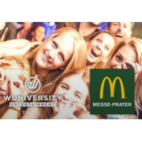 "Party ""1000"" im McDonalds Messe Prater am 8.10. – 1.000 Burger & 1.000 Drinks kostenlos für Studenten"