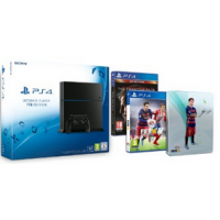PS4 Konsole 1TB + Fifa 16 (Steelbook) + Metal Gear Solid 5 um nur 399 €