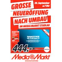 Media Markt Stadlau Neueröffnung mit vielen Angeboten am 24.09.2015