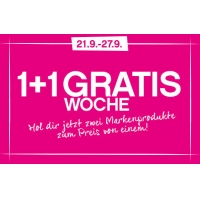 BIPA Onlineshop: 1+1 GRATIS Aktion auf 64 Markenprodukte