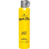 Amazon: 30 % Rabatt auf Styling Produkte – zB. 6x got2b Sprühkleber Haarlack um 12,39 €