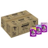 Whiskas 1+ Katzenfutter 84 Beutel (84 x 100g) um 14,85 € statt 26,99 €