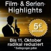 Neue Film- & Serienangebote bis 11. Oktober 2015 bei Amazon