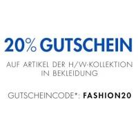 Amazon: 20% Rabatt auf Bekleidung der H/W-Kollektion bis 11.10.2015