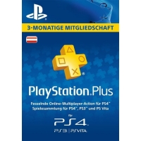 PlayStation Plus 3 Monate Abo inkl. Versand um 18,75 € statt 24,99 €