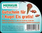 Merkur Markt am 9 Juli 1 Kugel Eis Gratis zwischen 14-17 Uhr @Merkurmarkt