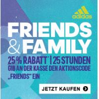 25% Rabatt im Adidas Online Shop bis 16.10.2015 – 01:00 Uhr