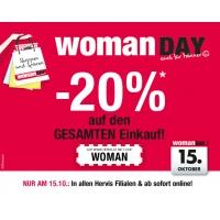Hervis.at: -20% Rabatt zum Woman Day schon ab heute