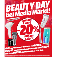 Beauty Day bei Media Markt – 20% Rabatt auf Braun, Oral-B und Philips!
