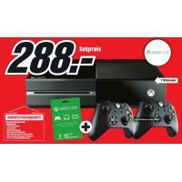 Xbox One 1TB Konsole + 2. Controller + 3 Monate Xbox Live Gold um 288 Euro bei Media Markt in Wien Lugner City und Wr. Neustadt