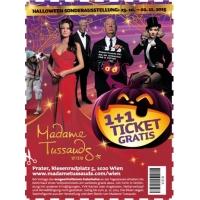 """1+1 Gratis auf Tickets für Madame Tussauds Wien in der """"Heute"""""""