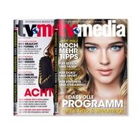 2 kostenlose Ausgaben der Zeitschrift TV-Media auf probiermal.at
