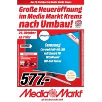 Media Markt Krems – Eröffnungsangebote ab 29. Oktober 2015 um 7 Uhr