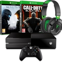 Xbox One 500 GB Shooter Bundle mit 2 Games + Headset für 377,90 €