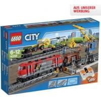 Top! 20% Rabatt auf Spielwaren in der Interspar Filiale und Online – zB. LEGO – City Züge – Schwerlastzug (60098) um 111,20 € statt 152,98 €