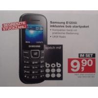 Samsung E1200i inkl. bob-Startpaket um 9,90 € in den Post Filialen
