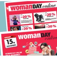 Woman Day Online am 15. November 2015 – alle Aktionen