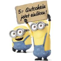 BAAANANA!!! 5 € Rabatt auf Minions bei Weltbild