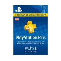 Saturn Tagesdeals – zB PlayStation Plus 3 Monate Mitgliedschaft um 13 €