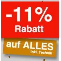 Quelle.at – 11% (fast) ALLES (inkl. Technik & reduzierte Ware)