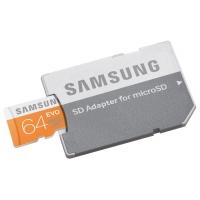 Samsung MicroSDXC 64GB GB EVO Speicherkarte um nur 15,99 Euro
