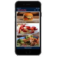 Dealrally: App mit Essens-Gutscheinen