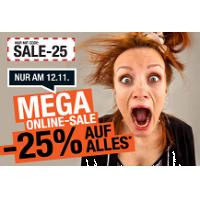 Hervis Onlineshop: 25 % Rabatt auf (fast) ALLES