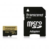 Transcend Ultimate microSDXC UHS-I U3 64GB inkl. Adapter um 39,91 €