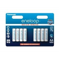 Panasonic eneloop AA Ready-to-Use 8er Pack um nur 12,99 Euro