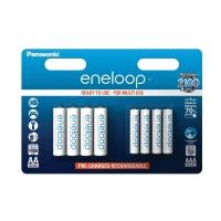 Panasonic eneloop AA + AAA 8er Pack um nur 15,90 Euro bei Amazon