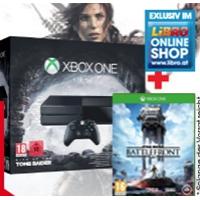 Xbox One 1TB  inkl. Tomb Raider und Star Wars: Battlefront um nur 344 €