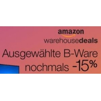 Amazon Warehouse Deals: 10 % Rabatt auf alle Artikel / 30 % Rabatt auf ausgewählte Artikel