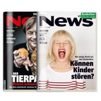 2 kostenlose Ausgaben der Zeitschrift NEWS auf probiermal.at