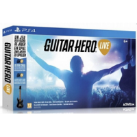 Guitar Hero inkl. Gitarre für PS4 inkl. Versand um 54,99 € bei Libro