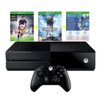 Xbox One 500GB inkl. FIFA 16 & Star Wars Battlefront ab 294 €