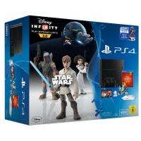 Saturn Tagesdeals – zB. PS4 500GB + Disney Infinity 3.0 + Playstation TV um 369 € inkl. Versand statt 437,14 €