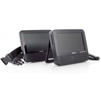 Tragbarer Philips DVD-Player PD7022T mit 2 LCD-Displays 7″ inkl. Versand um 89,90 € bei Eduscho/Tchibo