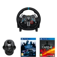 Logitech G29 Racing Lenkrad + Logitech Driving Force Shifter + Project Cars (PS4)+Need for Speed 2015 (PS4) inkl. Versand um 309,04 €