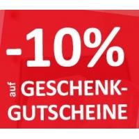 kika/Leiner – 10 % Rabatt auf Geschenkgutscheine bis 24. Dezember 2016