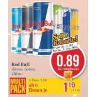25 % Rabatt auf kohlensäurehaltige Limonaden & Energydrinks bei Billa